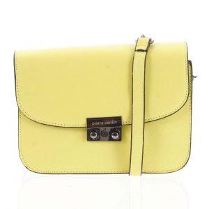 Dámská crossbody kabelka žlutá – Pierre Cardin Eriza žlutá