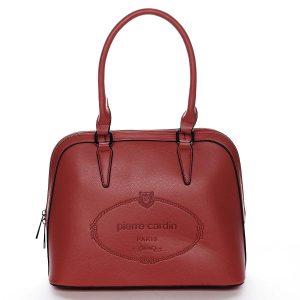 Dámská kabelka do ruky červená – Pierre Cardin Beliana červená