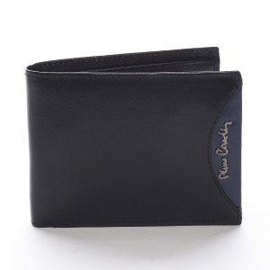 Pánská kožená peněženka černá – Pierre Cardin Ludmar Blue černá