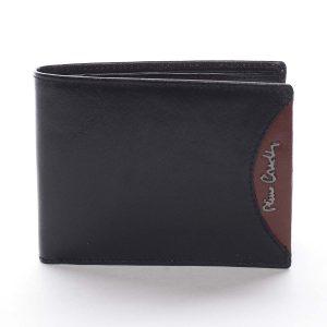 Pánská kožená peněženka černá – Pierre Cardin Ludmar Rosso černá