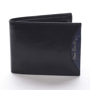 Pánská kožená peněženka černá – Pierre Cardin Mack Blue černá