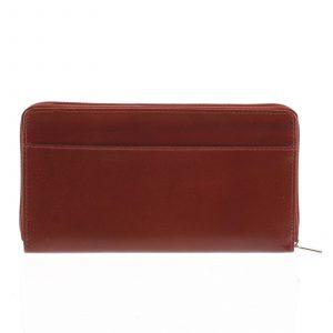 Dámská kožená peněženka tmavě červená – Tomas Imvilophu červená