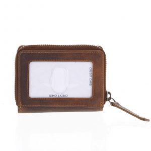 Kožená peněženka hnědá – Tomas Omcane hnědá