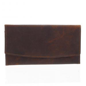 Dámská kožená peněženka hnědá – Tomas Suave hnědá