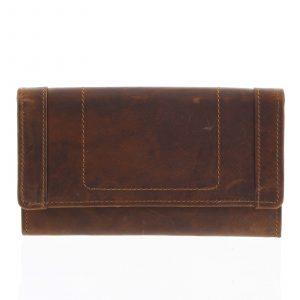Kožená peněženka hnědá – Tomas Mayana hnědá