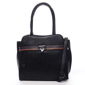 Dámská kabelka přes rameno černá – Maria C Shelsia černá