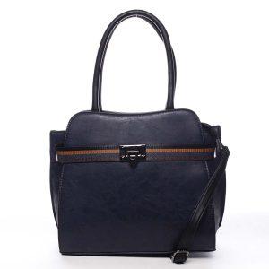 Dámská kabelka přes rameno tmavě modrá – Maria C Shelsia modrá