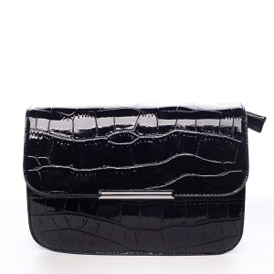 Dámská crossbody kabelka černá – Silvia Rosa Crakhe černá