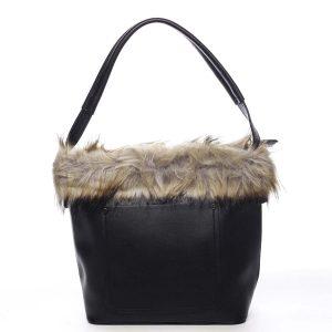 Dámská kabelka přes rameno černá – Maria C Triches černá