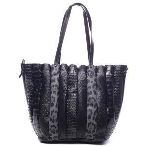 Dámská kabelka přes rameno černá – Dudlin Tola černá