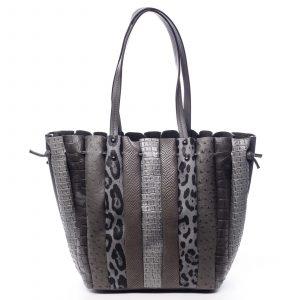 Dámská kabelka přes rameno tmavě šedá – Dudlin Tola šedá