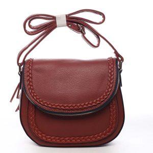 Dámská kabelka tmavě červená – Maria C Jami červená