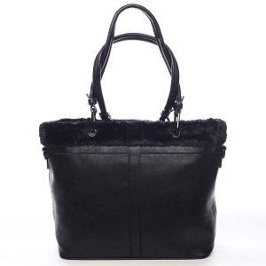 Dámská kabelka přes rameno černá – Maria C Lyra černá