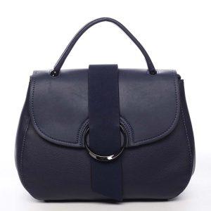 Jedinečná dámská kabelka do ruky tmavě modrá – Maria C Laurel modrá