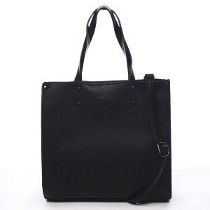 Dámská kabelka černá – Pierre Cardin Dished černá