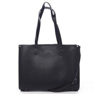 Dámská kabelka černá – Pierre Cardin Letti černá