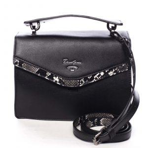Dámská kabelka do ruky černá – David Jones Scarlett černá