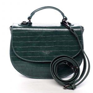 Dámská kabelka do ruky zelená – David Jones Cosette zelená