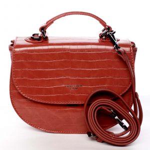 Dámská kabelka do ruky červená – David Jones Cosette červená