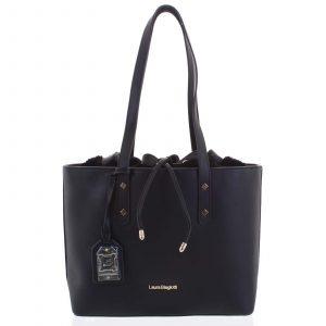 Dámská kabelka přes rameno černá – Laura Biagiotti Violet černá