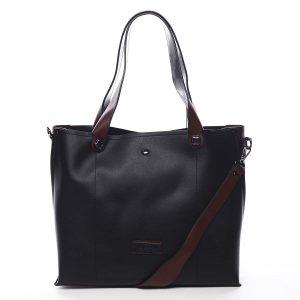 Dámská kabelka přes rameno černá – Pierre Cardin Ellie černá