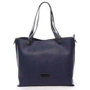 Dámská kabelka přes rameno tmavě modrá – Pierre Cardin Ellie modrá