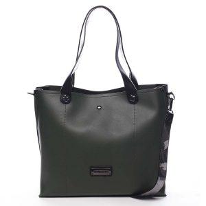 Dámská kabelka přes rameno zelená – Pierre Cardin Ellie zelená