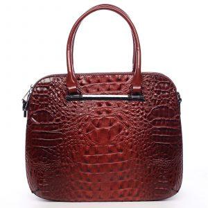 Dámská kabelka do ruky červená – Dudlin Lexi červená