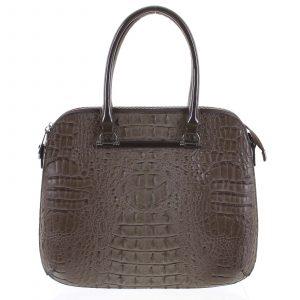 Dámská kabelka do ruky taupe – Dudlin Lexi taupe