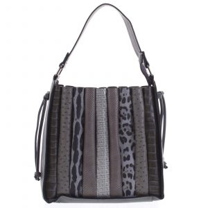 Dámská kabelka přes rameno tmavě šedá – Dudlin Pruet šedá
