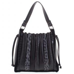 Dámská kabelka přes rameno černá – Dudlin Pruet černá
