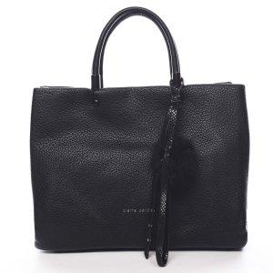 Dámská kabelka do ruky černá – Pierre Cardin Krimea černá