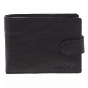 Pánská kožená peněženka černá – SendiDesign Mheo černá