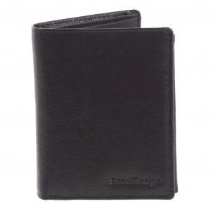 Pánská kožená peněženka černá – SendiDesign Benny černá