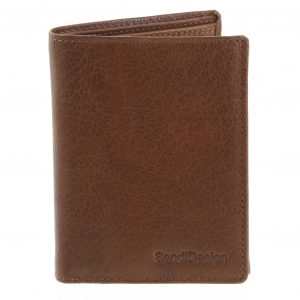 Pánská kožená peněženka světle hnědá – SendiDesign Benny hnědá
