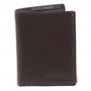 Pánská kožená peněženka tmavě hnědá – SendiDesign Benny hnědá