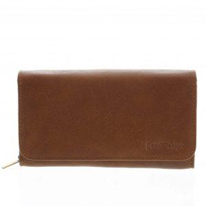 Dámská kožená peněženka světle hnědá – SendiDesign Really hnědá