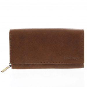 Dámská kožená peněženka světle hnědá – SendiDesign Zimbie hnědá