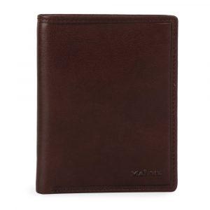 Maître Pánská kožená peněženka Grumbach Aribert 4060001437 – tmavě hnědá