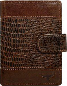 Buffalo Wild hnědá peněženka (N4L-VTC) Velikost: univerzální