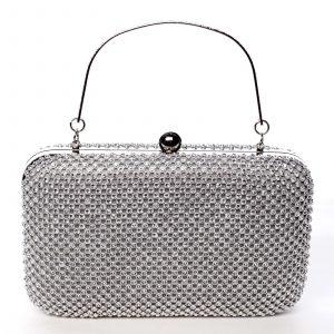 Luxusní dámské psaníčko stříbrné – Michelle Moon V4000 stříbrná