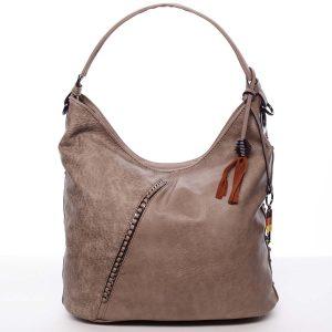 Trendy dámská kabelka do ruky khaki – MARIA C Macie Khaki