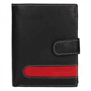 Pánská kožená peněženka Diviley Davide – černá