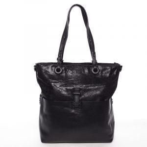 Trendy dámská kabelka přes rameno černá – MARIA C Kalish černá