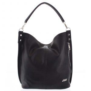 Elegantní dámská kabelka přes rameno černá – Ellis Negina černá
