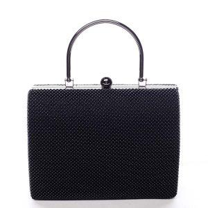 Dámské perleťové psaníčko černé – Michelle Moon V4100 černá