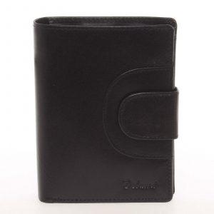 Kožená módní černá peněženka pro muže – Delami Raynard černá