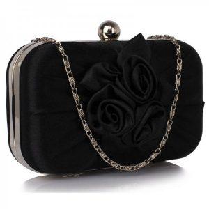 Dámské psaníčko LS Fashion Rousie – černá