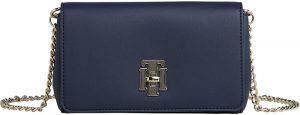 Tommy Hilfiger Dámská crossbody kabelka Th Lock Mini Xover Sky captain