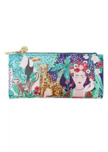 Disaster barevná peněženka Frida Kahlo Tropical Wallet